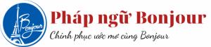 logo phap ngu bonjour