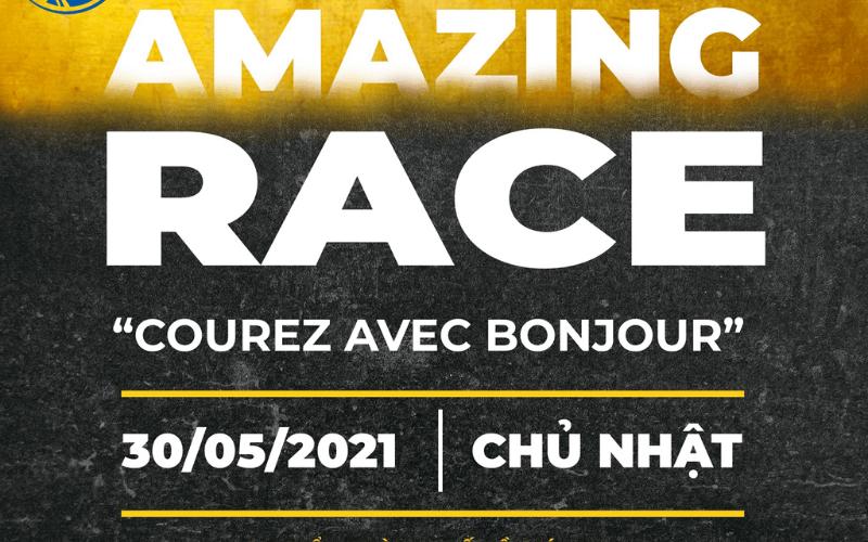 """Amazing Race """"Courez avec Bonjour"""""""